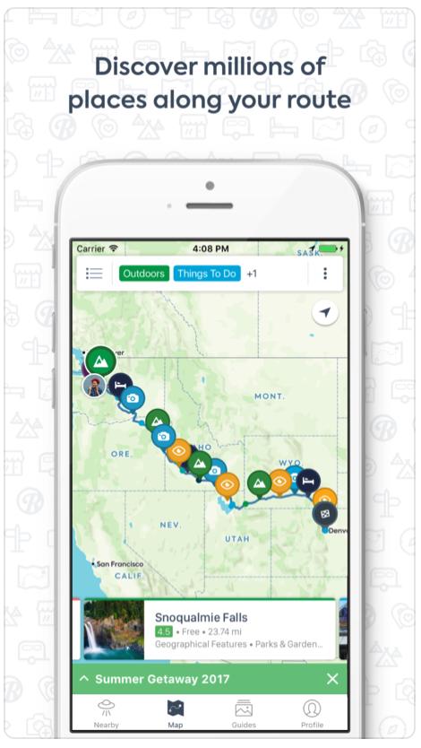 Rv Route Planner App