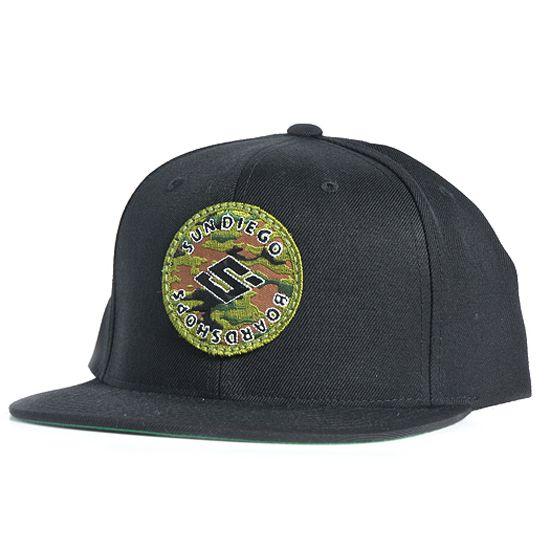 Sun Diego Camo Patch Hat