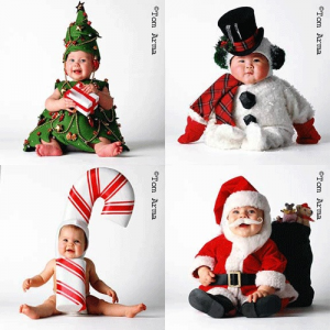 0cc657359 babycostumes 300x300 Ideas For Cute & Clever Christmas Card Photos Funny  Christmas Photos, Funny Christmas
