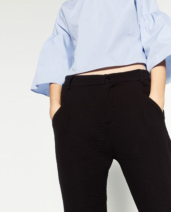Baggy Joggingbroek.Image 6 Of Baggy Jogging Trousers From Zara I Like