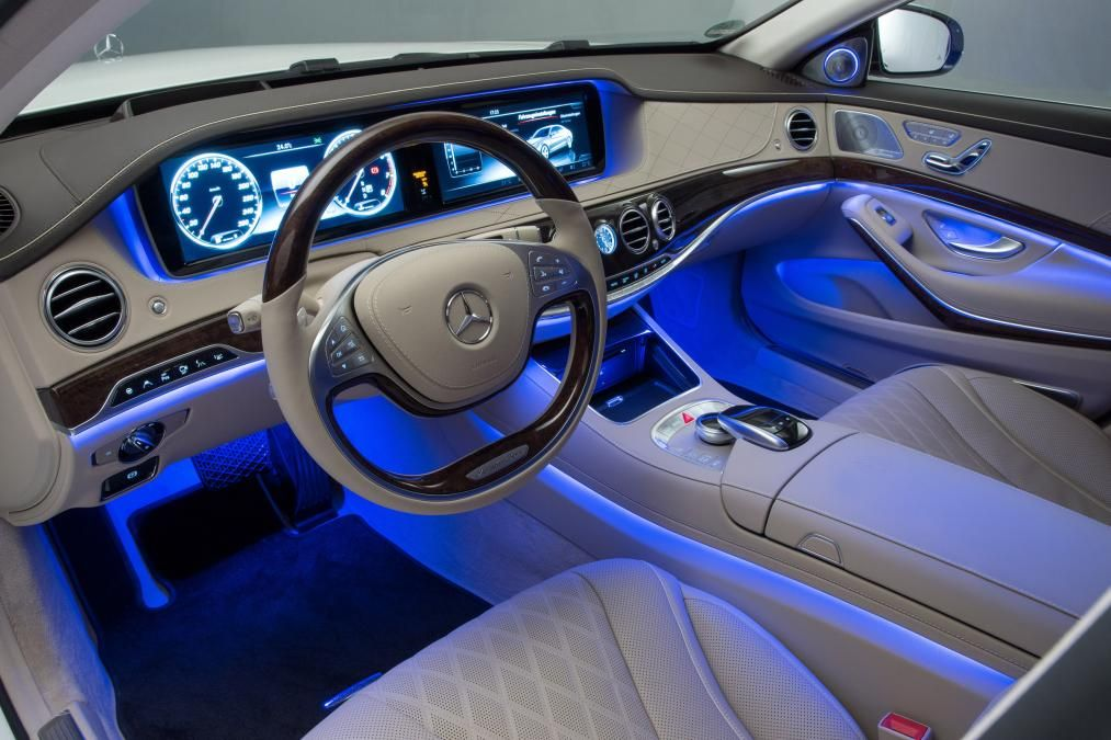 Mercedes Maybach Interior And Its S Nice Ass