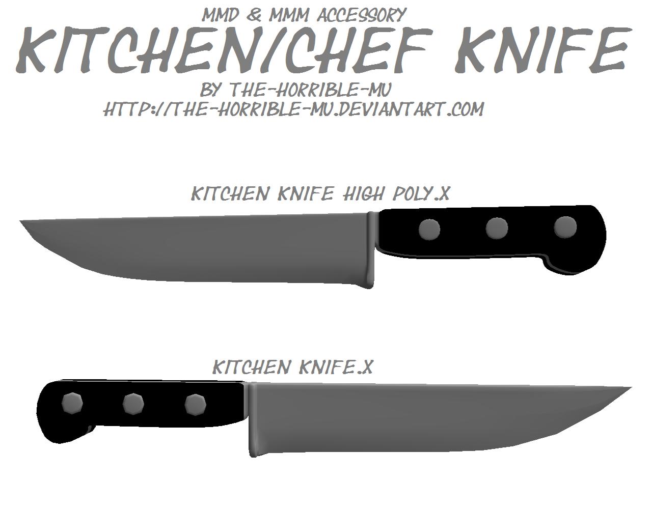mmd accessory kitchen knife dl horrible kitchen teaching kitchen ...