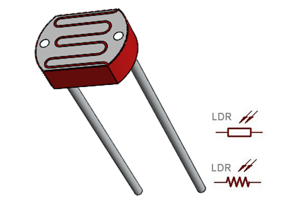 LDR Pinout | Ldr, Electronics projects