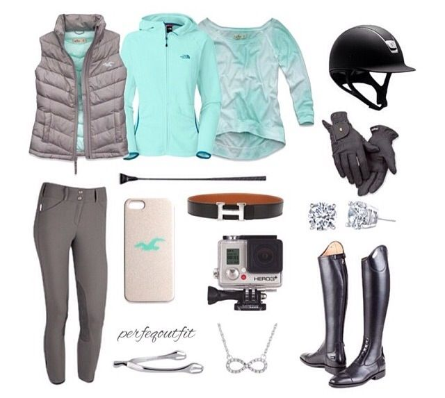 3fd5371a6b7 Fall/Winter Riding Outfit | Equestrian Clothes | Horseback riding ...