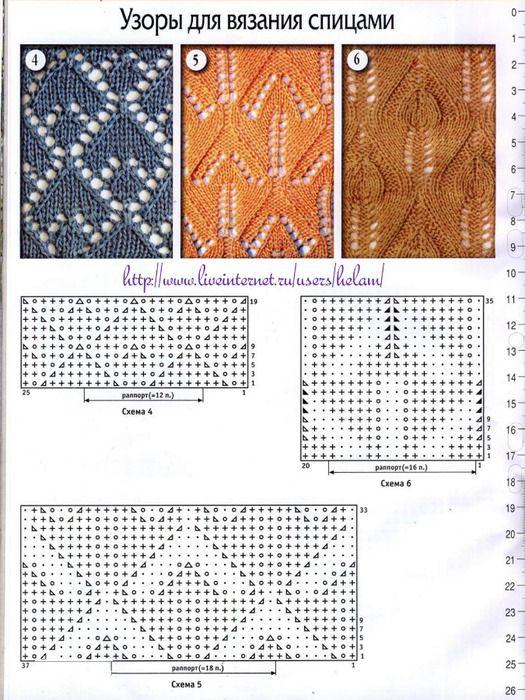 Pin by Irina Oprea on craft - knitting, crochet   Pinterest   Agujas ...