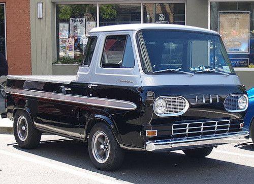 Ford Econoline Pickup Sweet Rides Ford Trucks Pickup Trucks