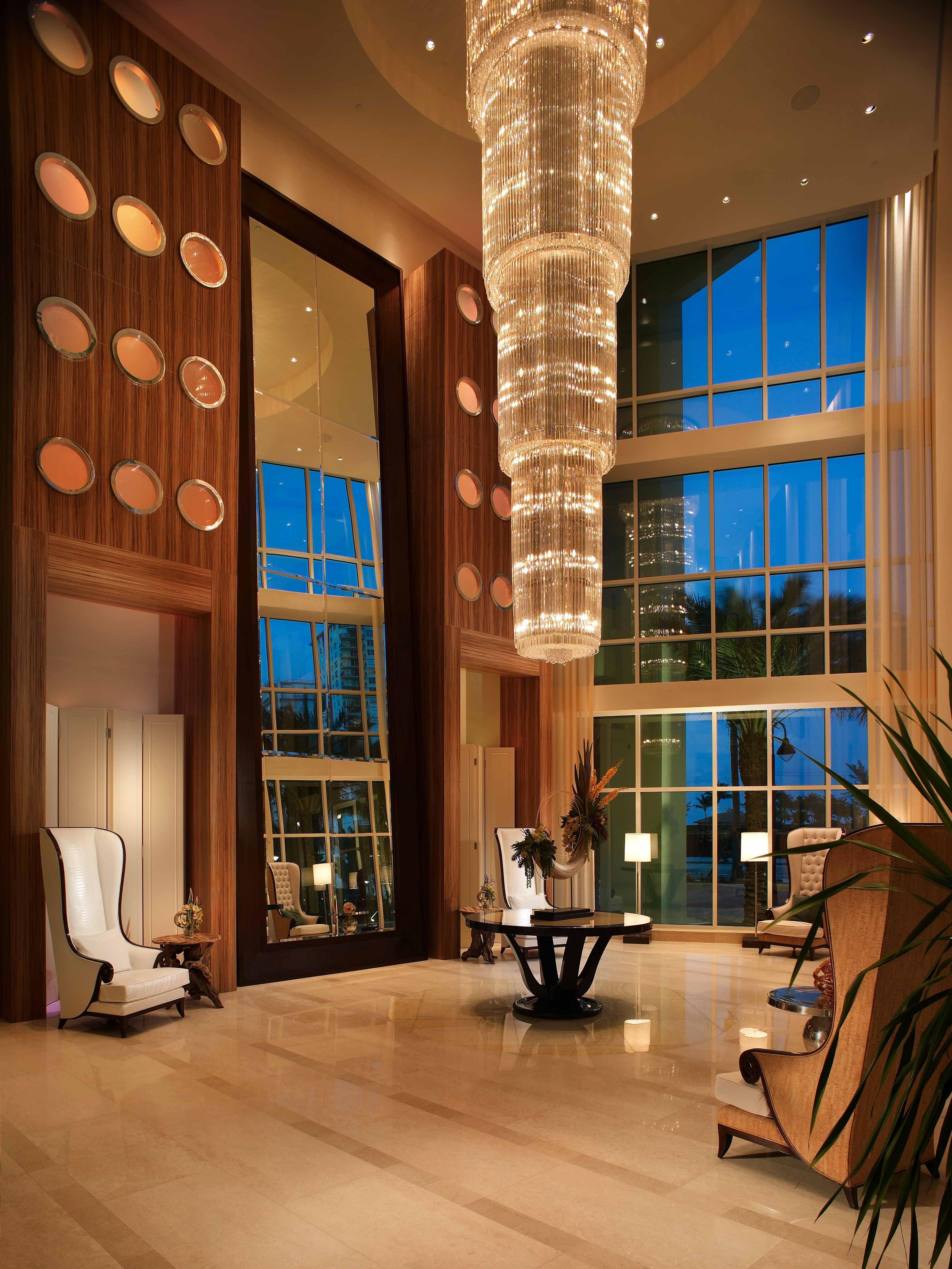 Exotic Hotel Rooms: Lobby Oceanside Pompano Beach, Florida