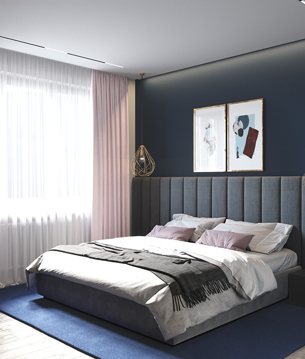Project Shine Moscow, Russia on Behance Pink bedrooms