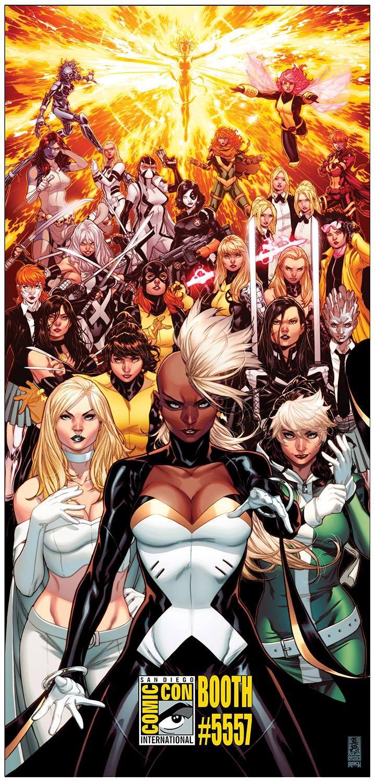 X Women By Mark Brooks Comics Marvel Comics Art Marvel