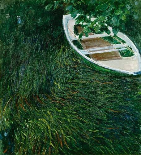 Claude Monet, La barque