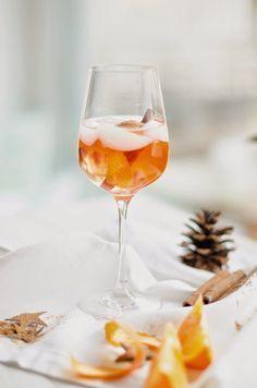 Recipe: Weihnachtlicher Spritz #thanksgivingdrinksalcohol