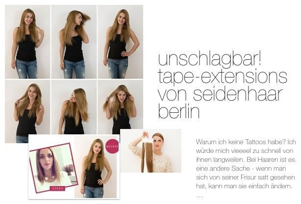 Tape in extensions berlin