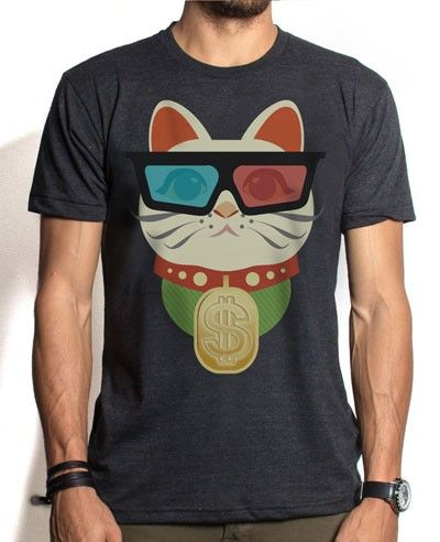 For all you cat lovers. A shirt you can wear.