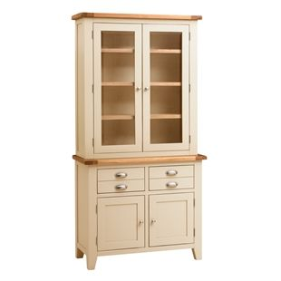 Kitchen Dresser kitchen dresser Kitchen Dressers Oak Solid Wood And White Dressers The Cotswold Company
