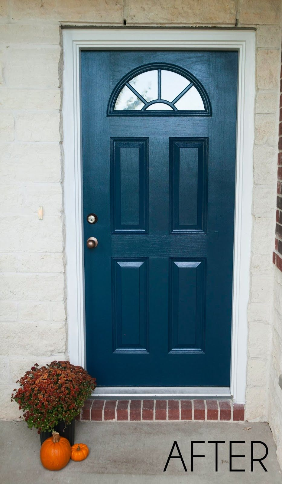 Mybellabug Curb Appeal Freshly Painted Front Door Exterior Front Doors Front Entry Doors Painted Front Doors