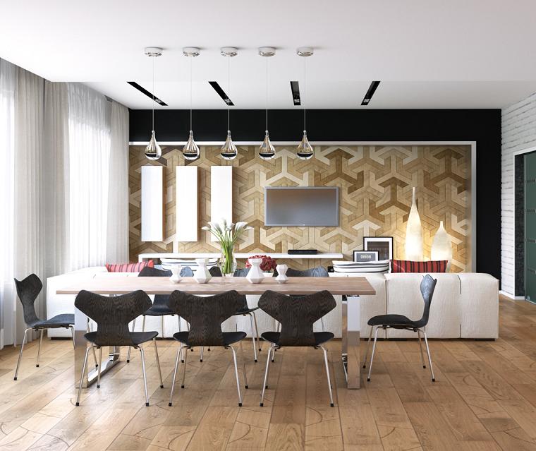 Decoracion interiores: 37 ideas de comedores modernos | Comedores ...