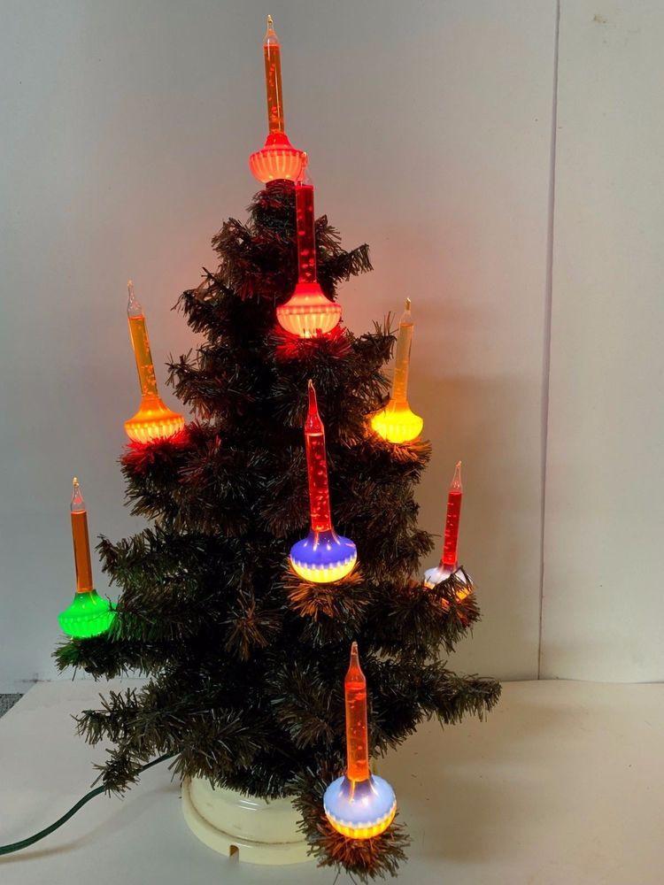 Best Christmas Tree Lights.Vintage Christmas C 6 Nine Light Royal 9 Light Bubble Light