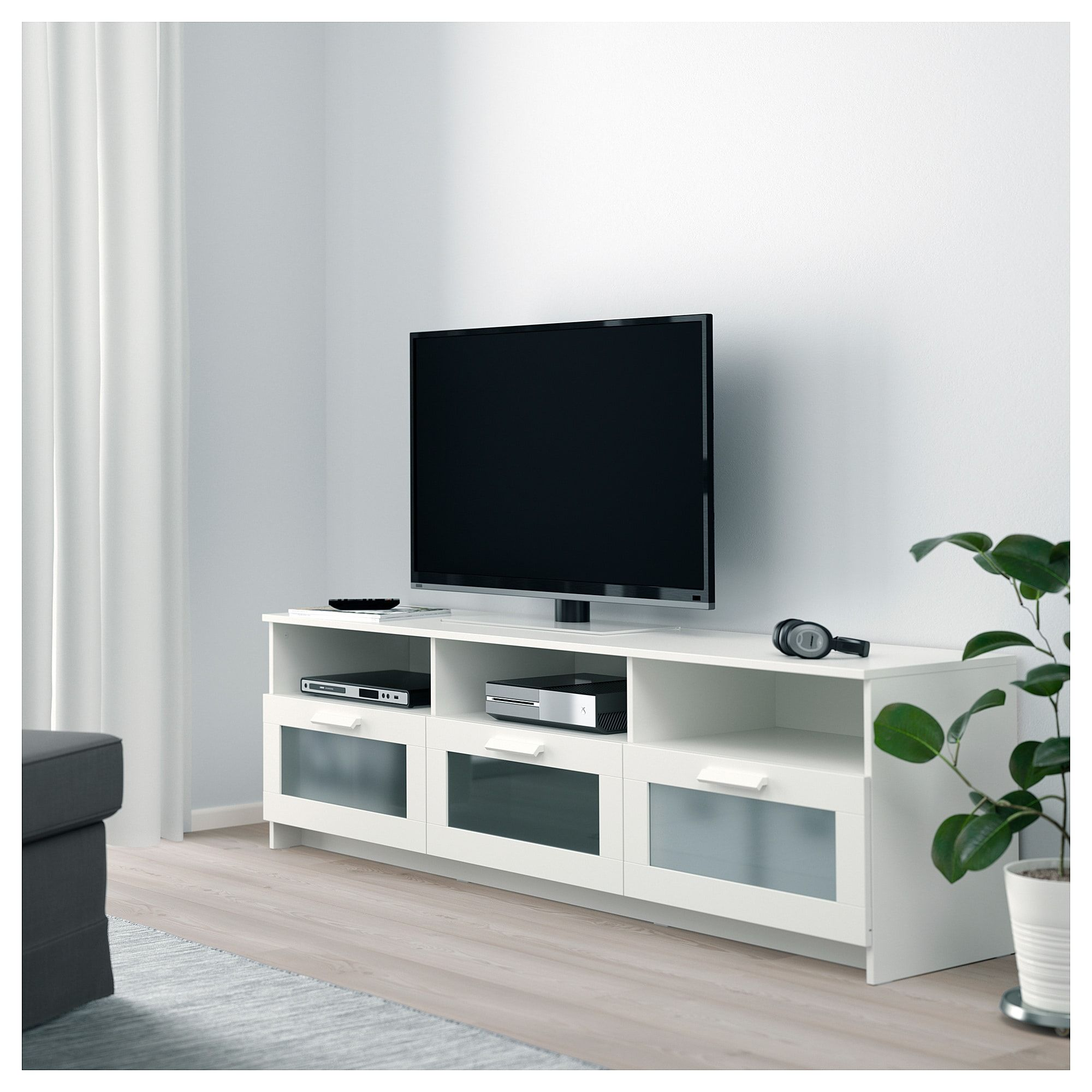 Ikea Lowboard Tv Ikea Brimnes Tv Bench White In 2019 Products Tv Bench