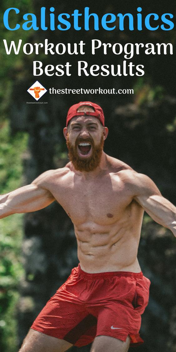 Calisthenics Workout Program Best Results | #WeightLoss Strength ...