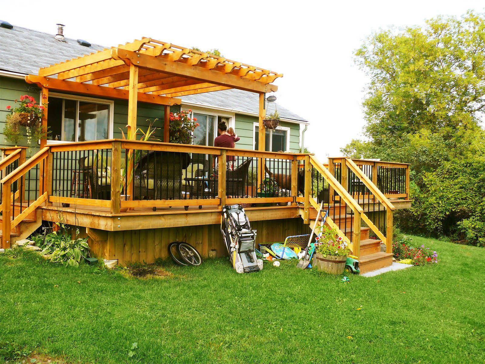 Diy Deck Building Construction Details : Amazing covered deck ideas to inspire you photos great