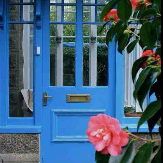 Farrow And Ball Cooks Blue Front Door Colors Beautiful Doors Front Door