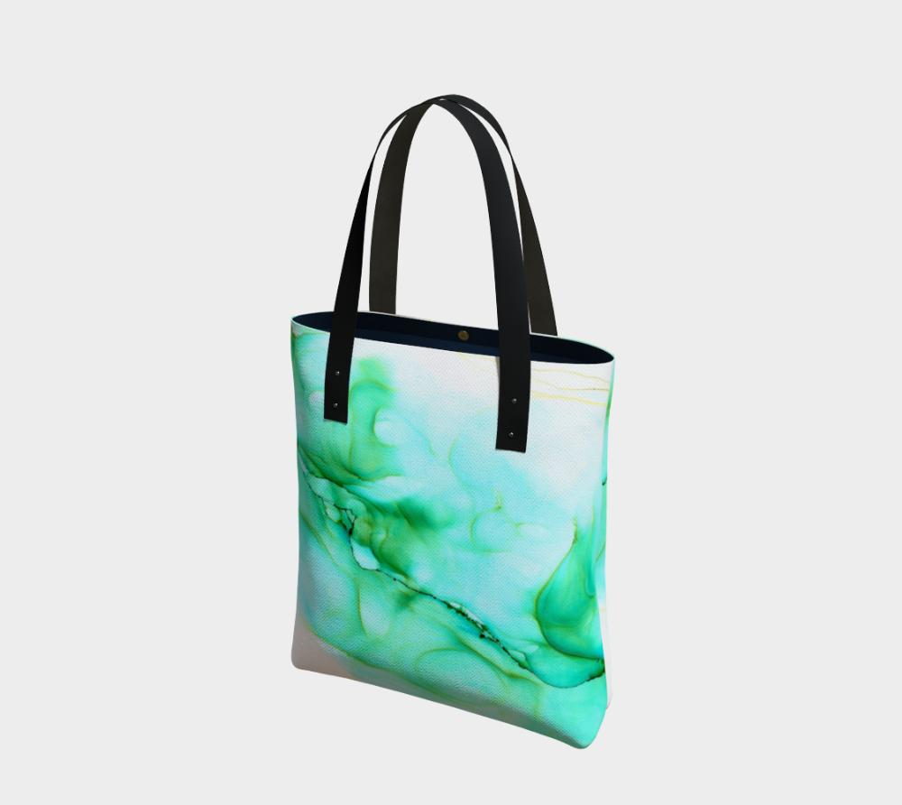 Abstract Fluid Chevrons Weekender Bag