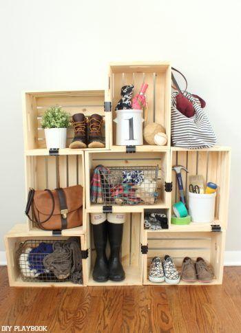 20 Genius Ways to Organize Around Your Home - Organization Junkie ...