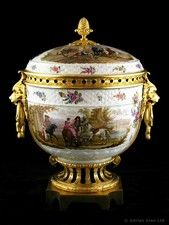 A Large Gilt-Bronze Mounted Porcelain Pot-pourri Vase and Cover