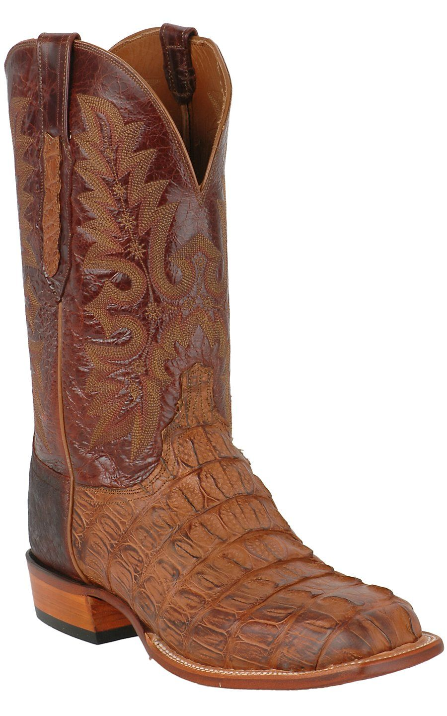 076474029d0 Lucchese® Cowboy Collection™ Men's Natural Burnish Hornback Exotic ...