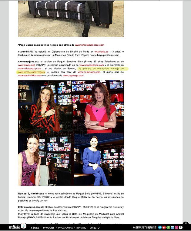 En El Blog Estilista De Guardia De Telecinco Es Complementos De Inmaculada Vergara Botines Negros Calzas Moda
