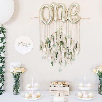 33 Trendy Baby First Birthday Party Ideas Girl
