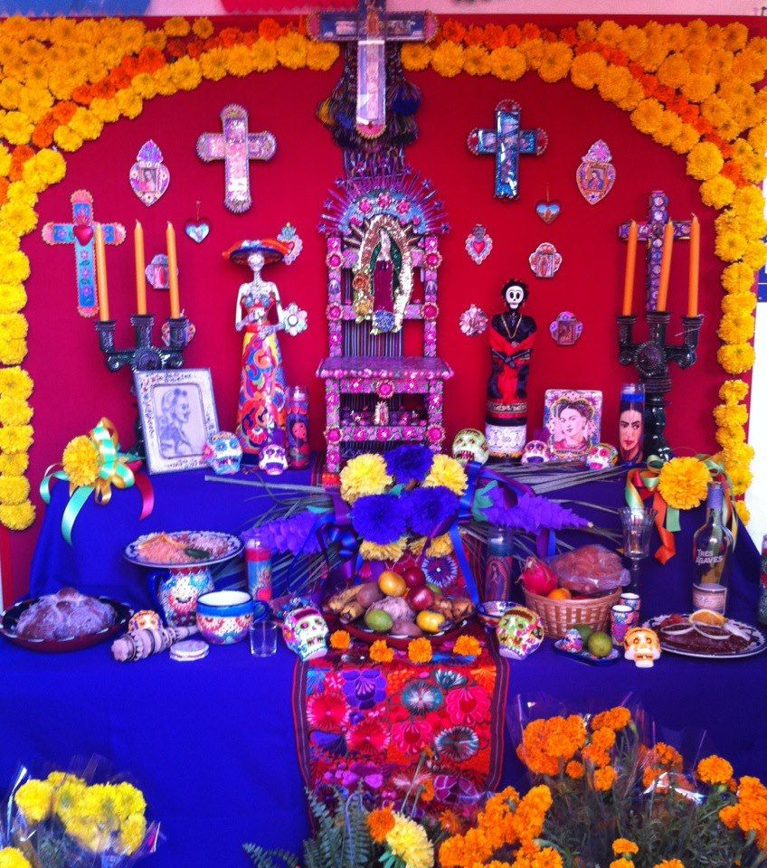 Halloween Wedding Altar: Dia De Los Muertos The Most