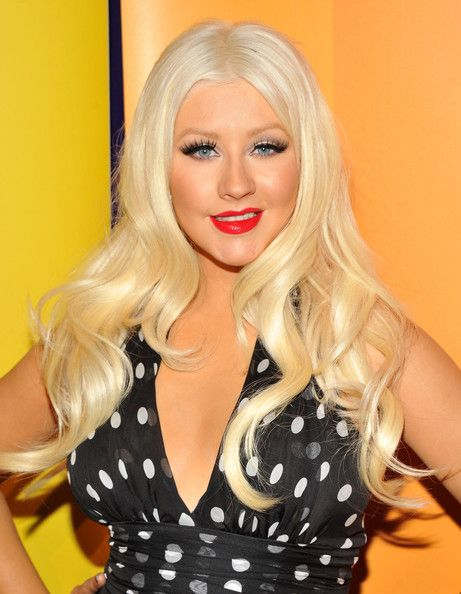 Singer/TV personality Christina Aguilera attends the 2011 NBC Upfront at The Hilton Hotel on May 16, 2011 in New York City.