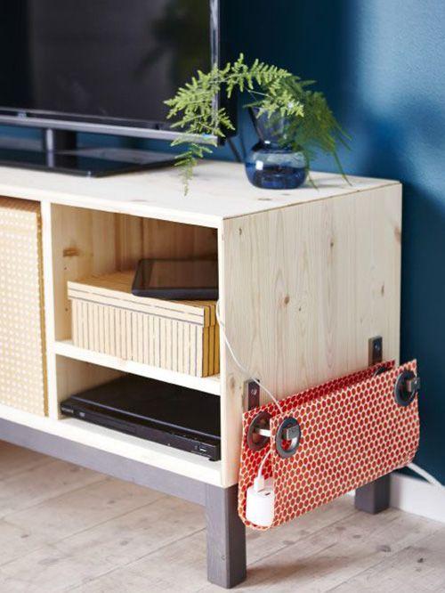 Cómo esconder cables en tu hogar ¡con mucho estilo! Cable - Ideas Con Mucho Estilo