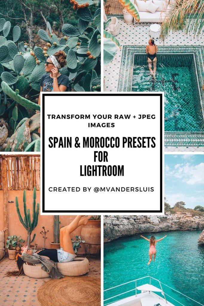 Spain & morocco presets | lightroom presets | Lightroom presets