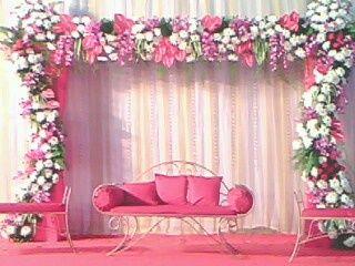 Ganesh Chaturthi Flower Decoration 01 Jpg 320 240