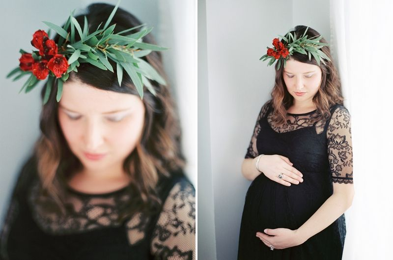 A Maternity Session on Film | Columbus, Ohio