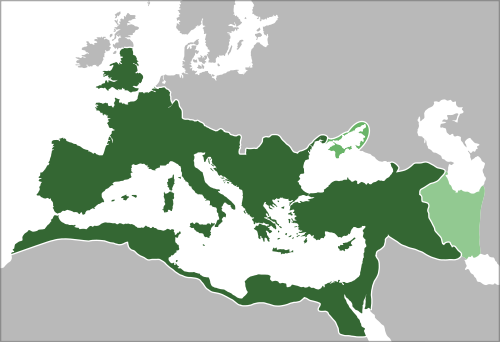The Roman Empire Reached Its Greatest Expanse During The Reign Of - Map of rome under trajan