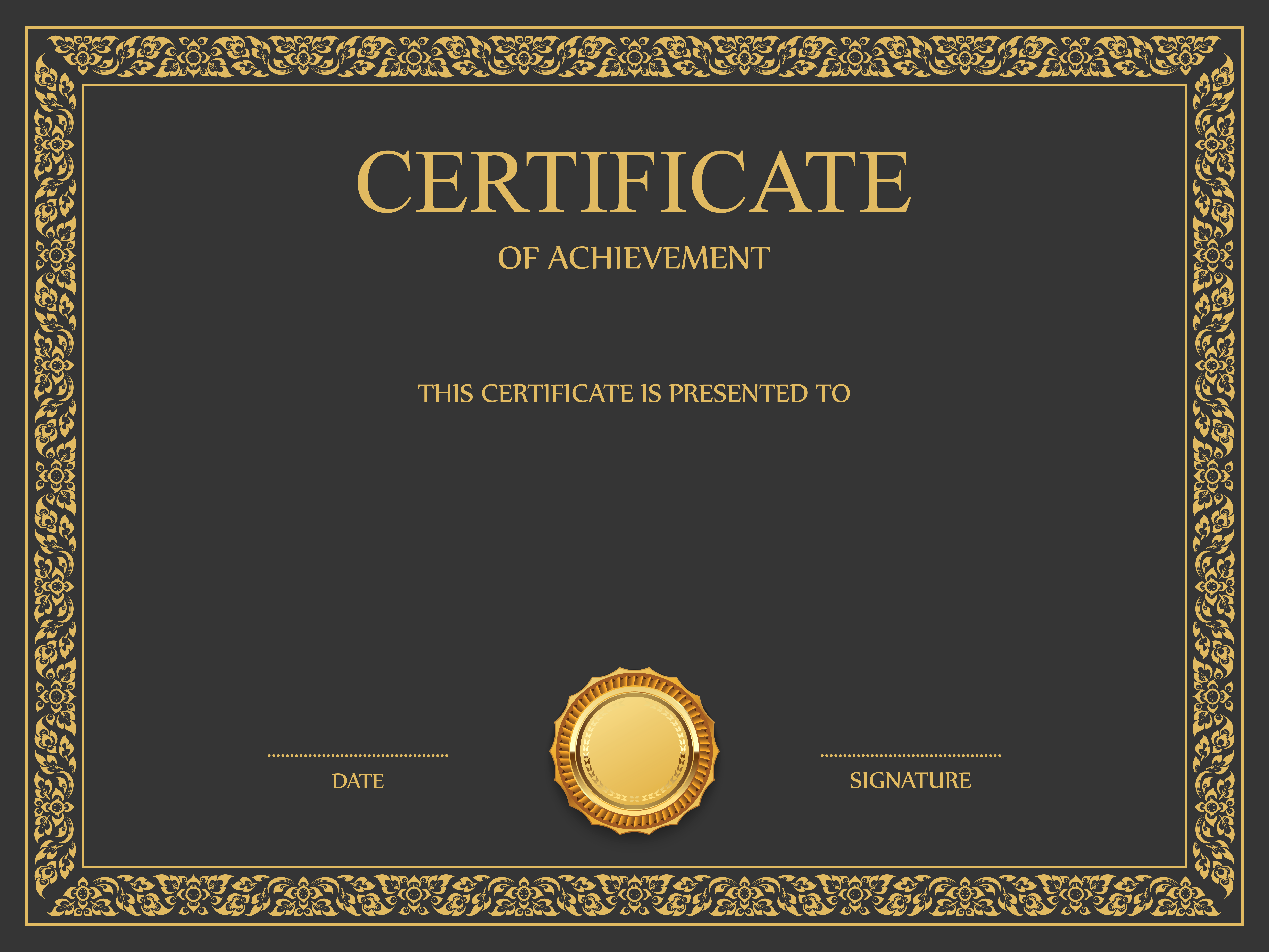 Certificate Template Png Image Certificate Templates Certificate Design Template Certificate Design