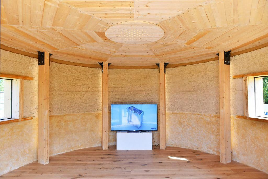 Italy Wasp Engineers Make A Model Tiny Home Partially Out Of 3d Printed Waste 3dprint Com The Voice Of 3d Printing Ad 3d Printed House House 3d Printing