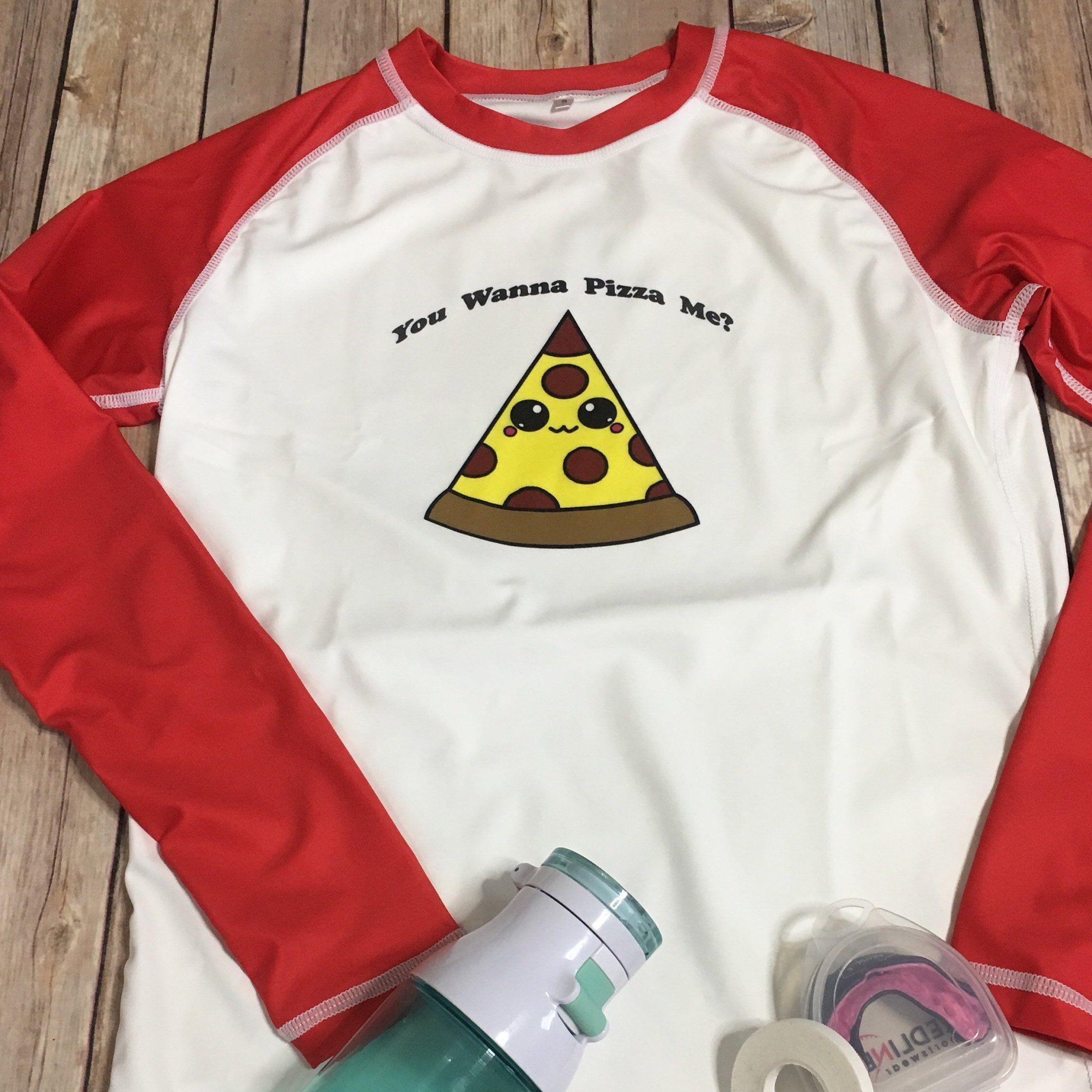 Brazilian Jiu Jitsu Pizza Rashguard