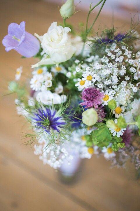 ♡ Brautstrauß Wiesenblumen Sommer Hochzeitsstrauß