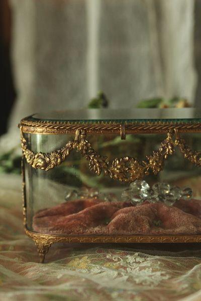 アンティークグローブドマリエ globe de mariee フランス フェストゥーン 花綱