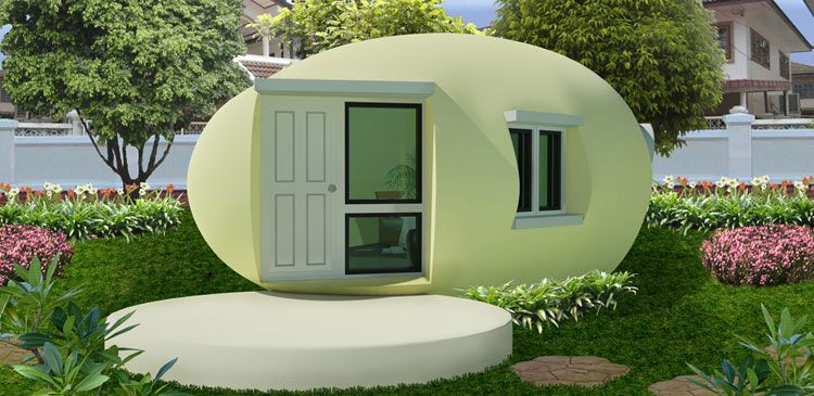 This is called Thai Nano House. Made from Fly Ash and ... Nano House Plans With Measurements on