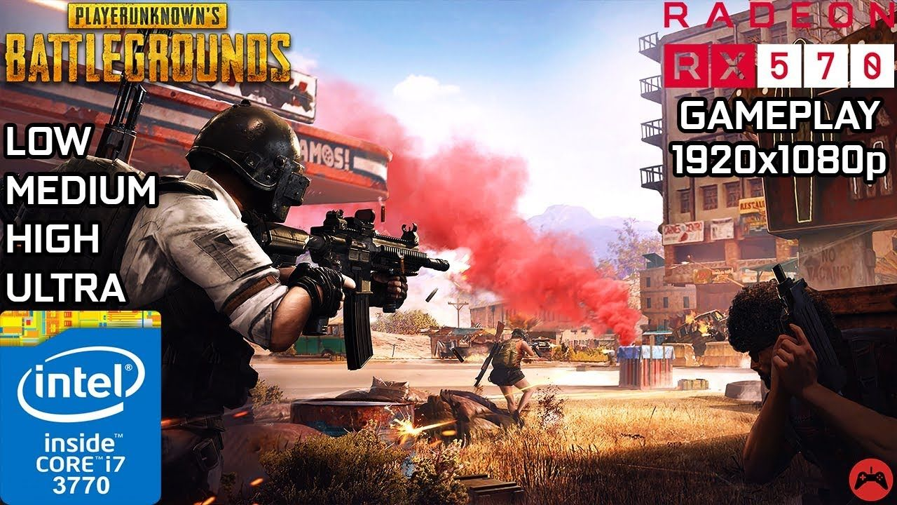 Pubg Gameplay Core I7 3770 Rx 570 4gb Low Medium High Ultr Gameplay Video Game Companies Japanese Film