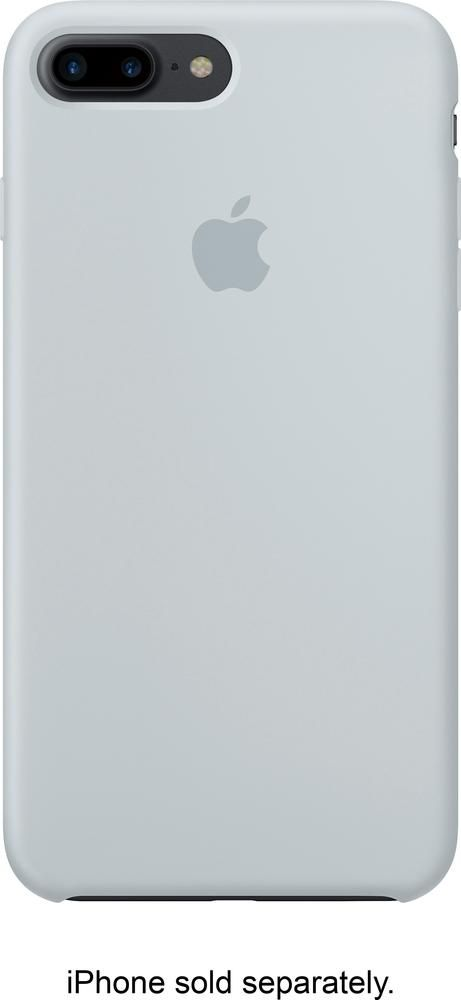 Best Buy Apple Iphone 7 Plus Silicone Case Mist Blue Mq5c2zm A Iphone Iphone 7 Plus Apple Iphone