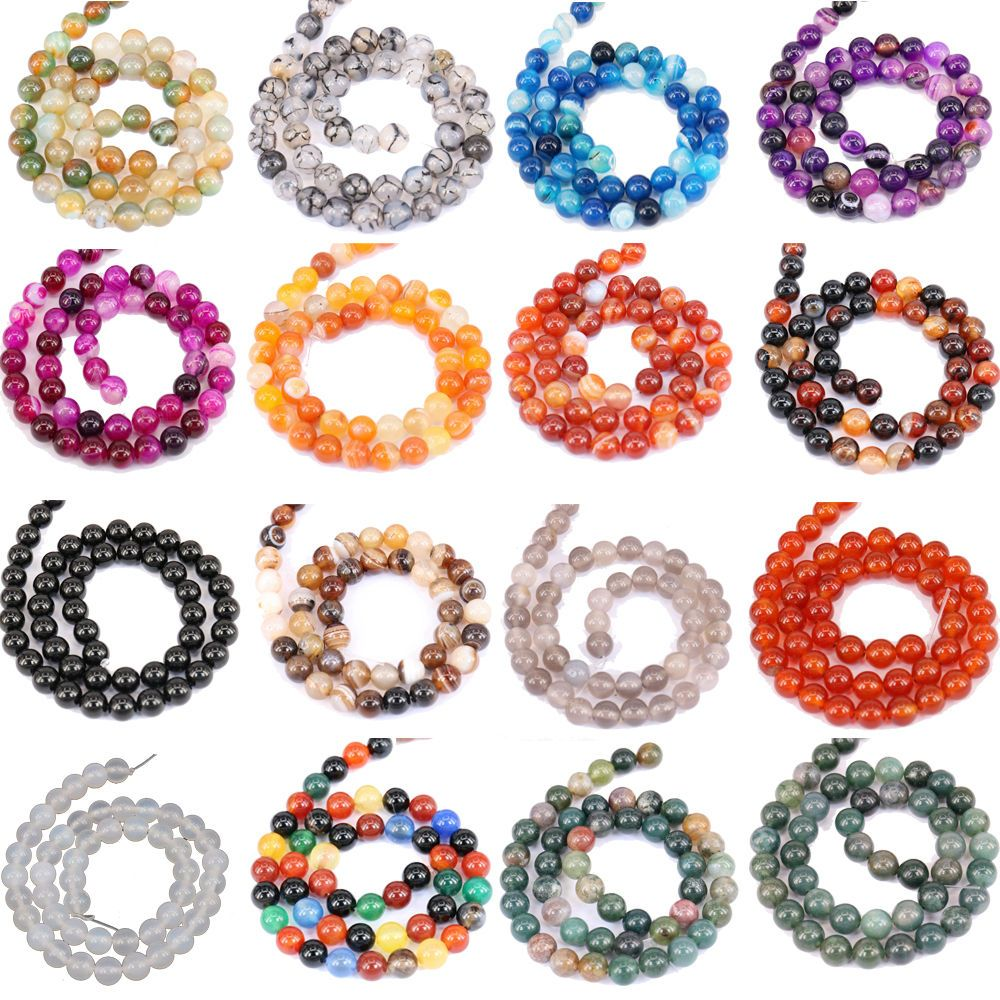 Wholesale Crystal Glass Round Loose Spacer Beads DIY Jewelry 4mm 6mm 8mm 10mm