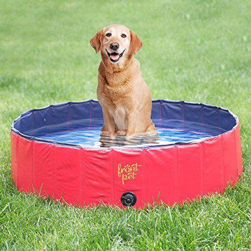 Frontpet Foldable Large Dog Pet Pool Bathing Tub (50 Inch