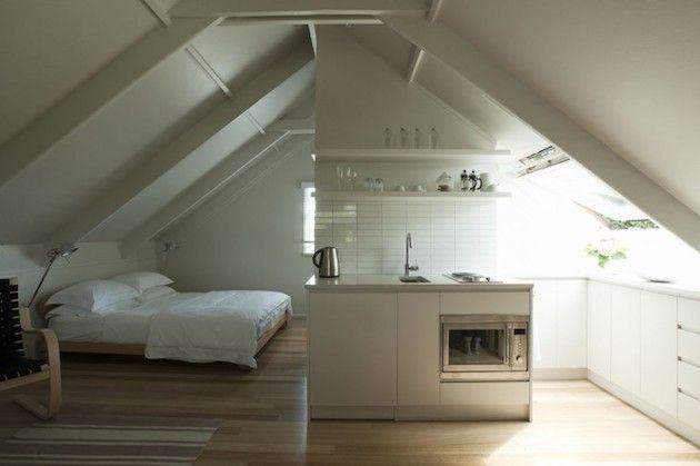 Garage Apartment Ideas peaked roof garage loft studio apartment - http://www.decority