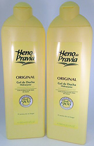 Heno de Pravia Shower Gel 22.5 Oz. 2-PACK Original